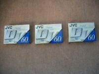 JVC MINI DV60 DIGITAL VIDEO CASSETTES - NEW