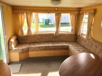 Cheap static caravan for sale in Mablethorpe/Skegness/LOW GROUND RENT/entertainment/fishing/lakes
