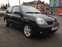 Renault Clio 1.2 Campus Sport I-Music 3dr Man 2007 (07 Reg) Price £1850 Ideal 1st Car Low Insurance