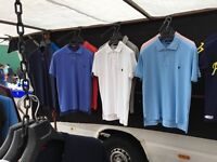 Stone island ralph lauren armani polos tshirts wholesale joblot clearance imported high quality
