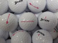 Srixon Ladies Soft Feel Golf Balls x 50. Pearl Condition