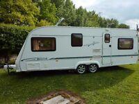 Elddis Avante 630 FB 2003 5 berth caravan with motor mover & full awning