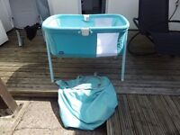 Baby Travel Cot cradle ( Chicco ) not been used.