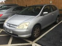 Honda Civic 1.6 Automatic Bargain 2003 PRICED TO SELL NEED GONE