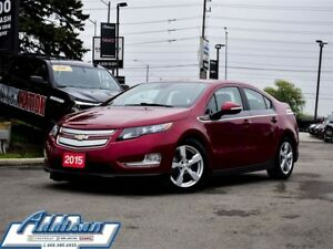 2015 Chevrolet Volt Electric Base Leather Navi Safety PKG 1 & 2