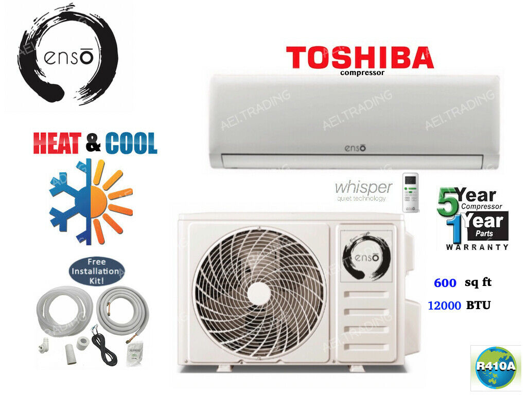 12 000 btu ductless air conditioner heat