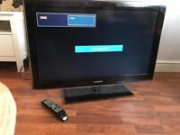"""Excellent condition Samsung 36"""" glass stand"""