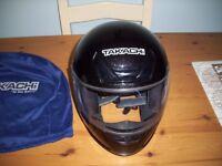 Takachi Full Face Motorcycle Crash Helmet XXL