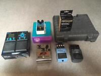 Pedals and stuff