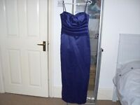 Beautiful Hand Made Purple Evening/Party/Prom/Bridesmaid's Long Dress size 10-12 – mint condition