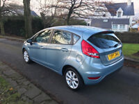 FORD FIESTA 1.2 ZETEC 2010. PARKING SENSORS. ONLY 48 K MILES. FULL SERVICE HISTORY. EXCELLENT DRIVE.