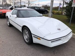 1990 Chevrolet Corvette CONVERTIBLE, HARD AND SOFT TOP, LOW KMS!