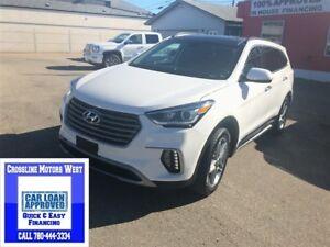 2017 Hyundai Santa Fe LIMITED easy financing upply today