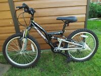 Childs Full Suspension Bike 20""