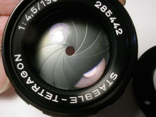 Staeble tetragon vintage lens f4.5/135mm