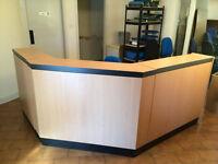 Reception Unit Desk
