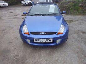Ford Street KA Convertable, 93,000mles, 1.6 Petrol, 2003-03-PLate