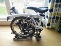 Brompton M-Type folding bicycle
