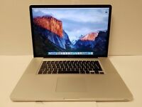 "RARE - APPLE MACBOOK PRO 17"" 2.4GHZ i7 - 8GB 1600MHZ RAM - 750GB HD - ONLY 42 CHARGING CYCLES !"