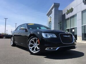 2017 Chrysler 300 C MOONROOF, LEATHER INTERIOR, BACKUP CAM