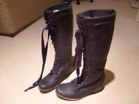 J Shoes womens leather boots size 5 Brand new