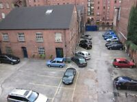 PARKING SPACES AVAILABLE AT M ONE STUDIOS MANCHESTER