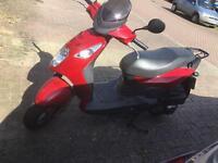 125cc moped 12 months mot