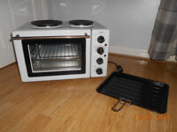 Royale tt29 table top compact electric cooker & oven *** AS NEW ***