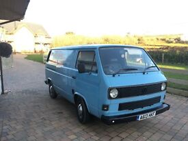 VW T25 T3 panel van 1983 5 seater 1.9ltr tdi engine