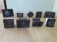 CAR CLOCKS/ TIMEPIECES from £5 each.