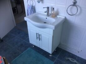 Wash Hand Basin compete with cabinet