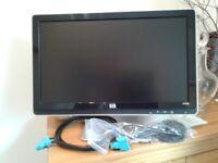 HP 20 inch colour monitor