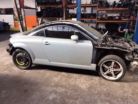 AUDI TT 225 BHP APX ENGINE BREAKING ALL PARTS FOR SALE