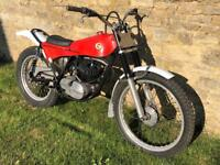 Montesa Cota 247 Twin shock trials