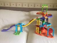 V tech Toot Toot Toy set