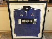 Bath Rugby Jersey - Framed & Autographed