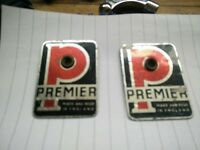 VINTAGE PREMIER TOM TOM BADGES