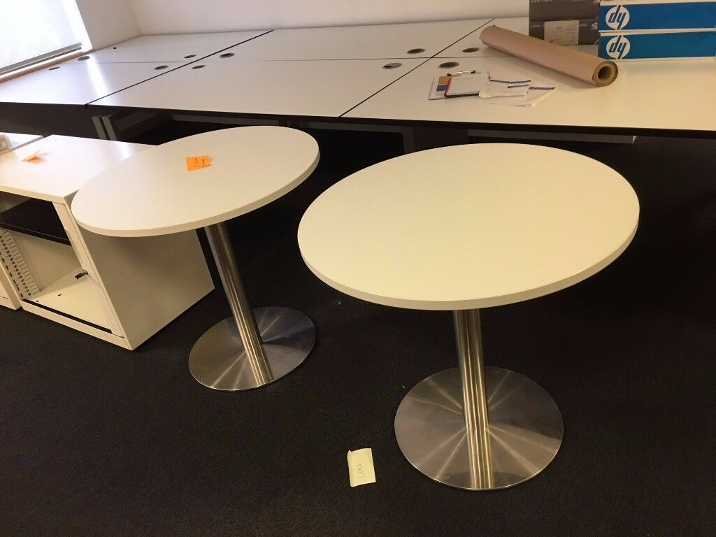 2 x small meeting room tables (£5 each)
