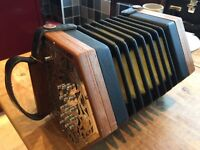 """Concertina """"Anglo"""" Made by Marcus, in the keys of C&G"""