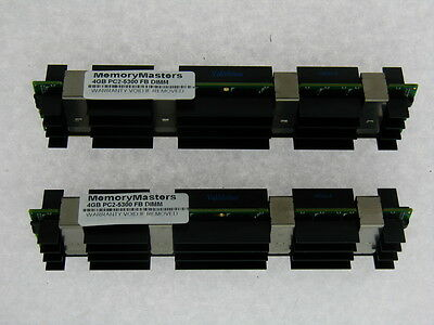 "Used, 8GB (2x4GB) RAM Memory for Apple Mac Pro ""Eight Core"" 3.0 (2,1) Tower DDR2 for sale  Shipping to South Africa"