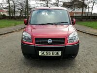 2006..Fiat DOBLO ACTIVE M-JET 1.2 JTD..NEW FULL MOT..NO ADVISORY..NEW EXHAUST..5D..97K...RED..V.G.C.