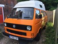 VW T25 Transporter in orange