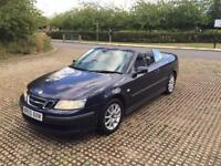 SAAB 93 1.8 2005 CONVERTIBLE. HALF LEATHER DRIVES THE BEST PRICE TO CLEAR
