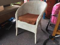 Wicker chair upcycle up cycle