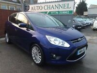 Ford C-Max 1.6 TDCi Titanium 5dr£6,995 p/x welcome 1 YEAR FREE WARRANTY. NEW MOT