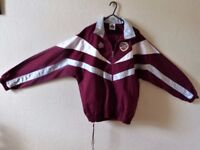 HEARTS * ADMIRAL* TRACKSUIT -- NEW -- ( NEVER WORN) Adult Size - 36/38 Inches-BARGAIN