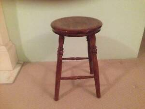 Wooden Stool Epping Ryde Area Preview