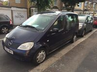 Mercedez Vaneo minivan, 7 seater(back seat 6 & 7 not available, diesel,