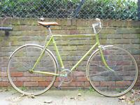 Beautiful lightweight Single Speed Vintage Freewheel bike, not fixie, Serviced