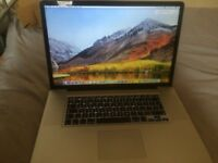Macbook Pro 17inch,Core i7,2011